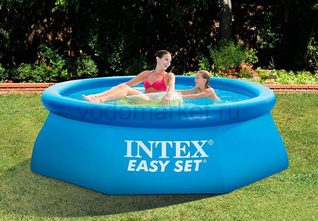 Бассейн надувной Intex Easy Set 244х76 см (28110)